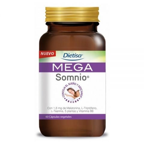 MegaSomnio 60 cáps Dietisa