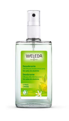 Desodorante citrus spray  Weleda