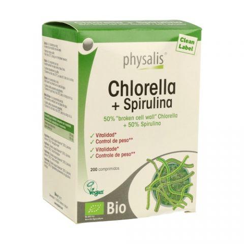 CHORELA + SPIRULINA PHYSALIS