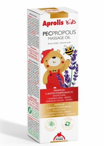 Pecpropolis aceite masaje Aprolis Kids