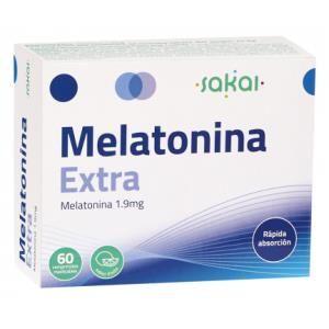 MELATONINA EXTRA MASTICABLE  60 COMP SAKAI