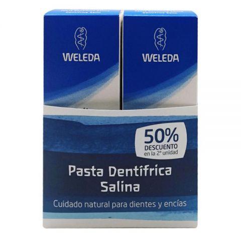 Pack Pasta dental Salina Weleda 2º unidad 50%
