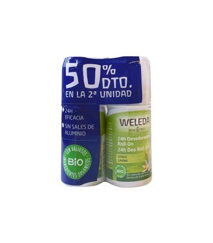 PACK 50% 2ª UNIDAD ROLON CITRUS WELEDA